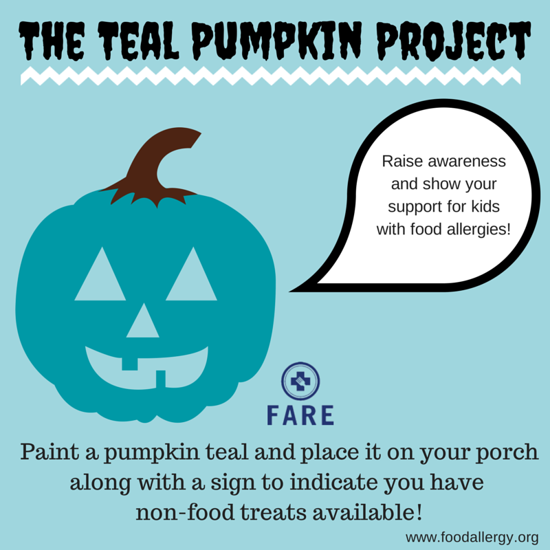 http://www.foodallergy.org/teal-pumpkin-project