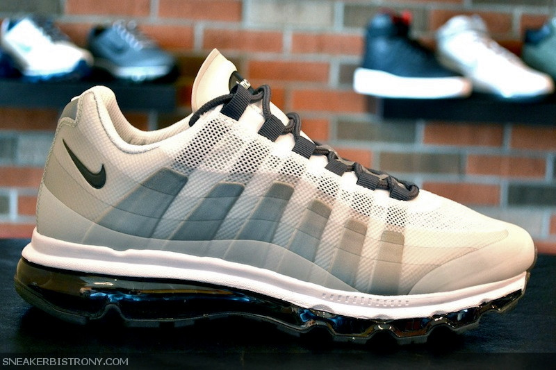 nike air max 95 + 360 white grey anthracite kohler