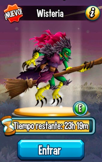 imagen de la cuarta mision de la isla halloween de monster legends