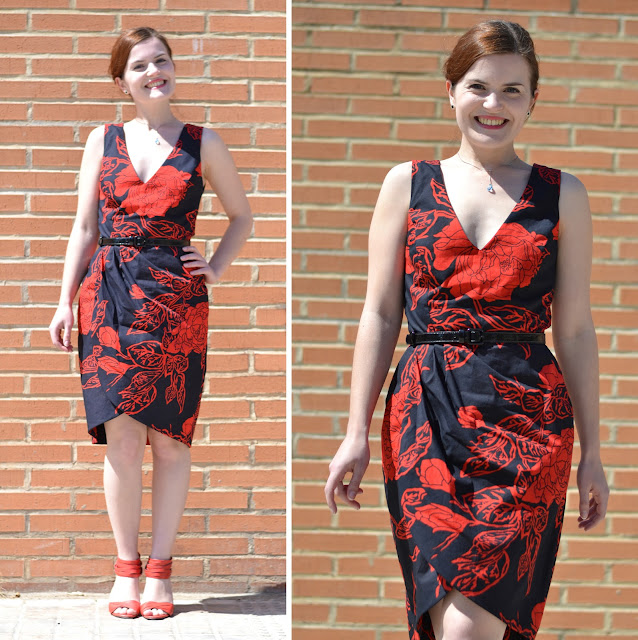 mad men challenge joan holloway red dress