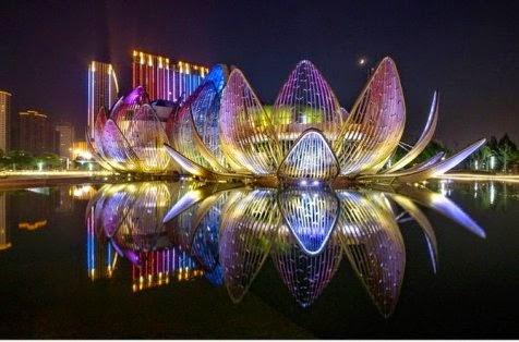 The Lotus Building, Uniknya Gedung Teratai Mekar di China