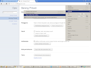 Import bookmark dari firefox ke chrome