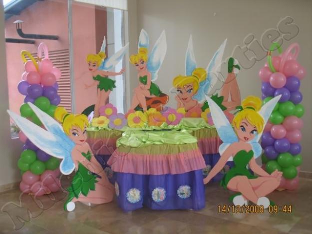 MuyAmeno.com: Fiestas Infantiles, Decoración Tinkerbell