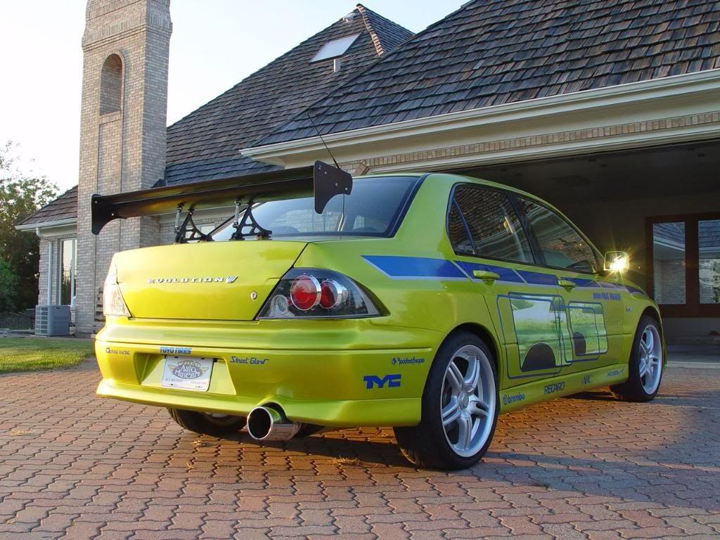 Zioncars Carros De Brian O Conner Mitsubishi Lancer