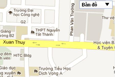 Ngã ba Phan Văn Trường Xuân Thủy