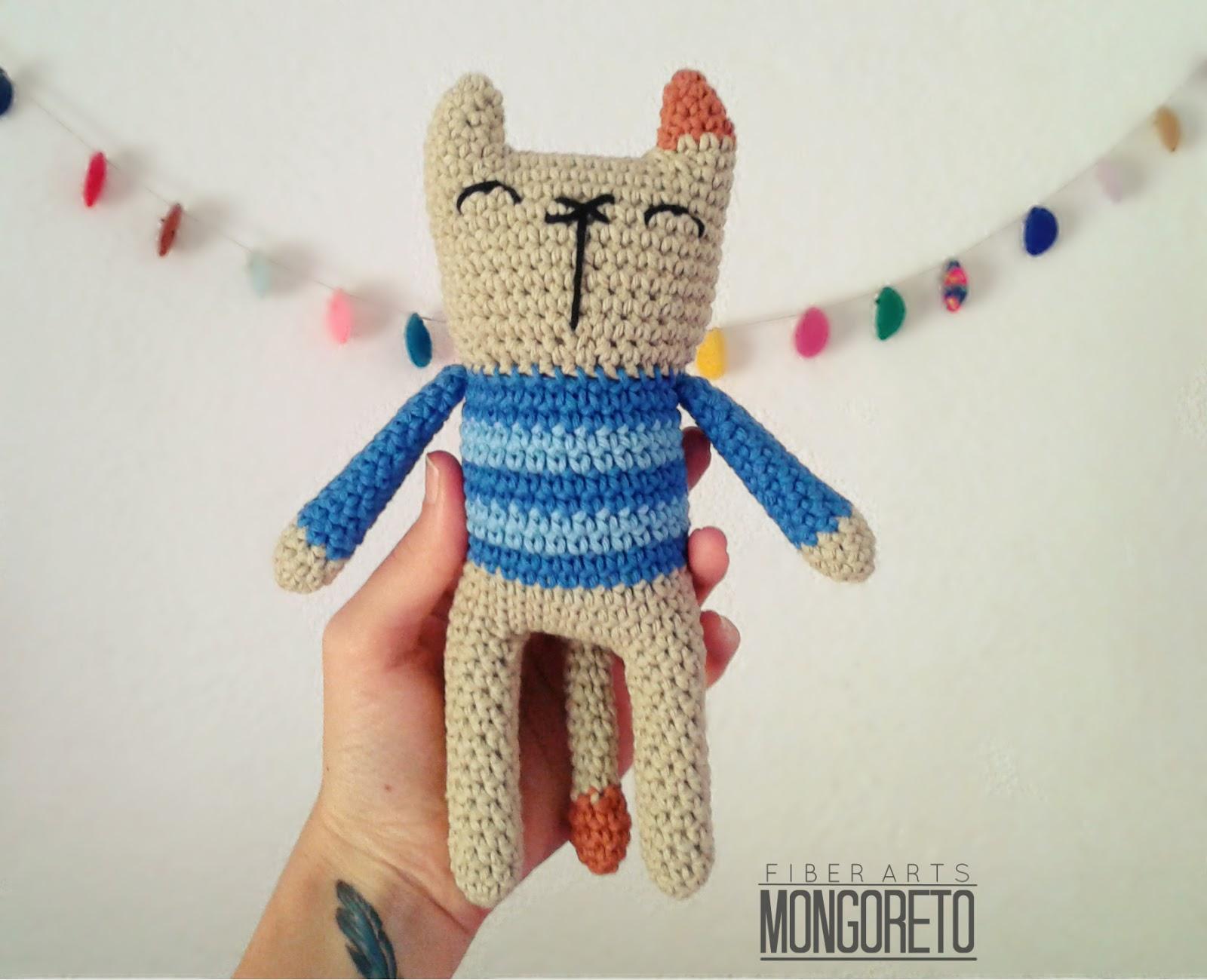 Mongoreto: Gato amigurumi