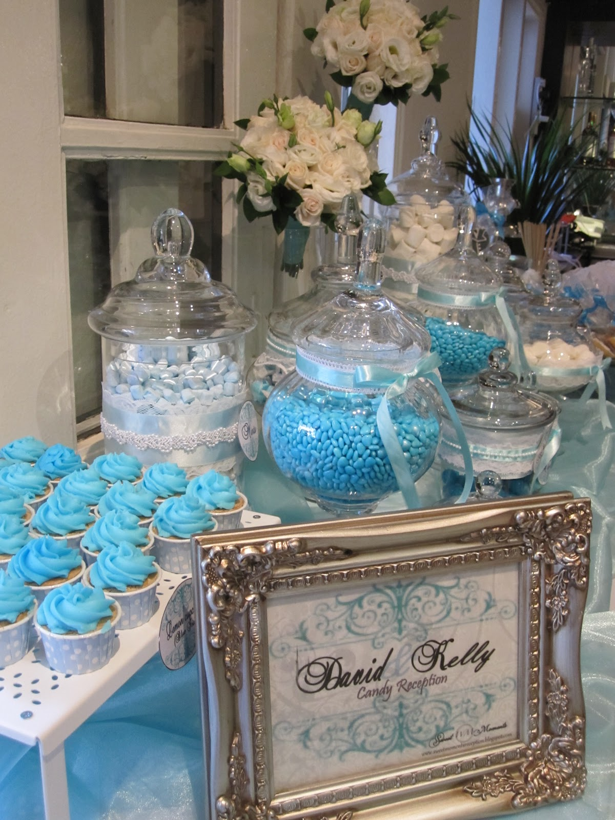 A Reception To Remember Tiffany Themed Wedding