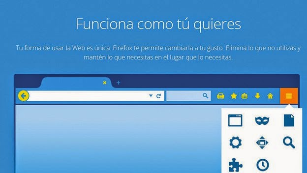 Mozilla Firefox Actualizacion 29
