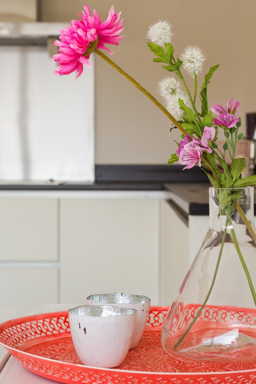 Casaenco modelwoning quattro pretty in pink - Roze keuken fuchsia ...