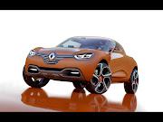 Renault Captur (2013) Front Side. A striking design that makes good use of a . renault captur front side