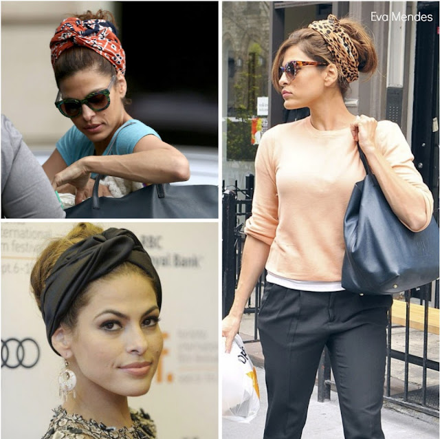 Eva Mendes Turbante