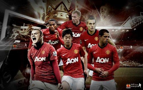 foto manchester united 2012 2013 wallpaper Daftar Skuad Utama Terbaru Tim Manchester United Musim 2013