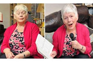 Aneh! Nenek Ini Hanya Bisa Buka Mata Kalau Sedang Menyanyi
