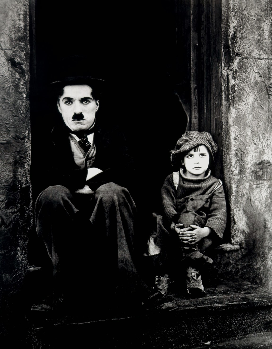 chaplin,the kid, funny movie