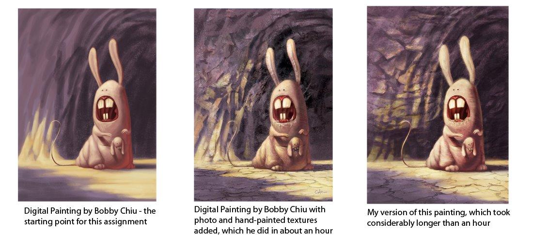 Tara Donovan Animator Bobby Chius Digital Painting Course Completed