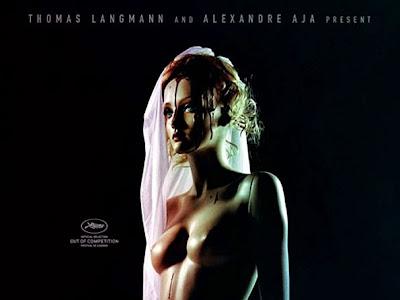 Tenebroso cartel de Maniac con su promoción en Cannes