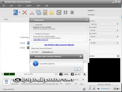 AVCWare Video Converter Ultimate.7.7.2.2013.0514 Full Patch