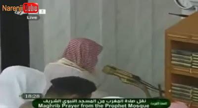 نماز در مسجد النبی