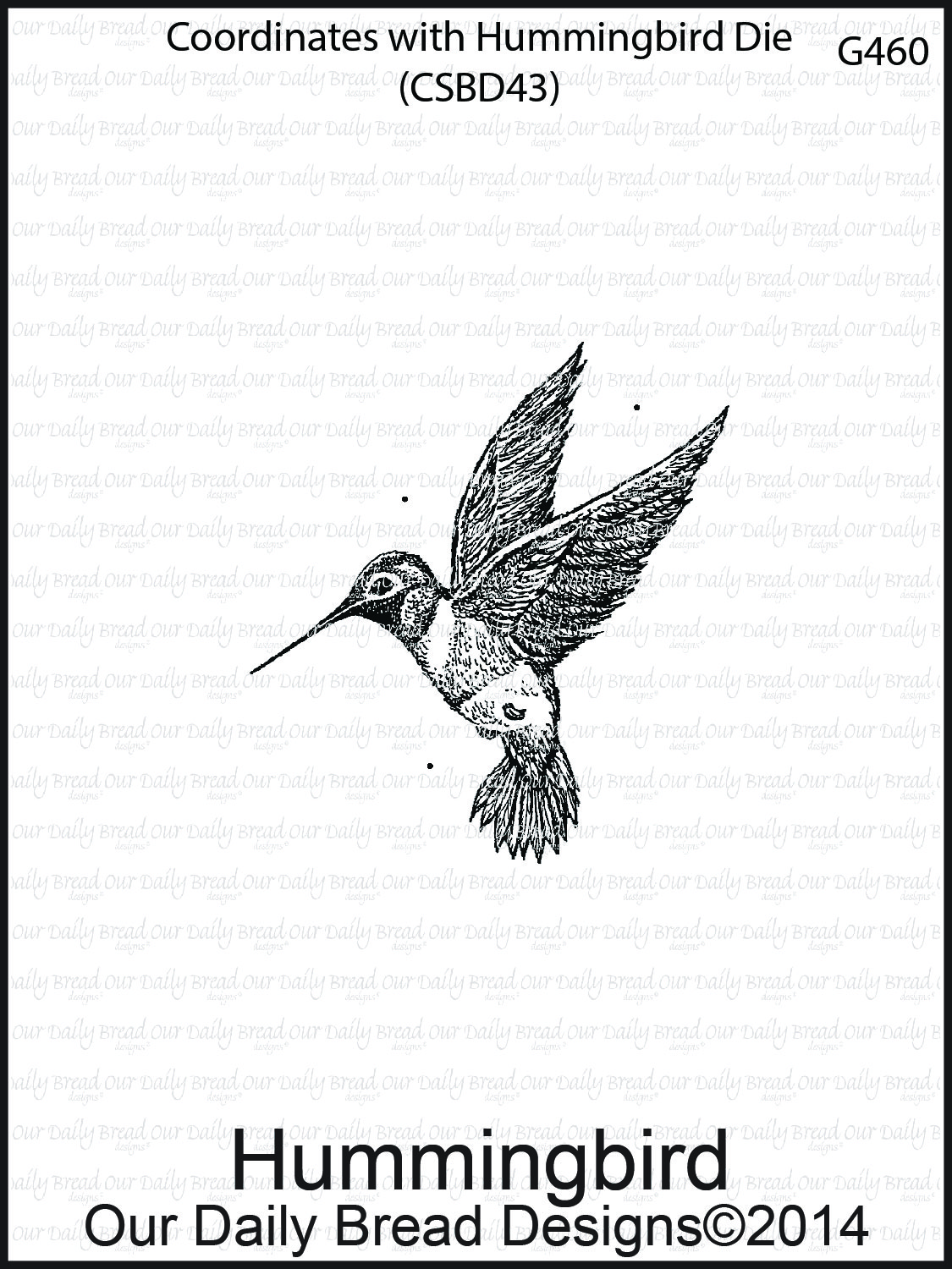 Stamps - Our Daily Bread Designs Hummingbird