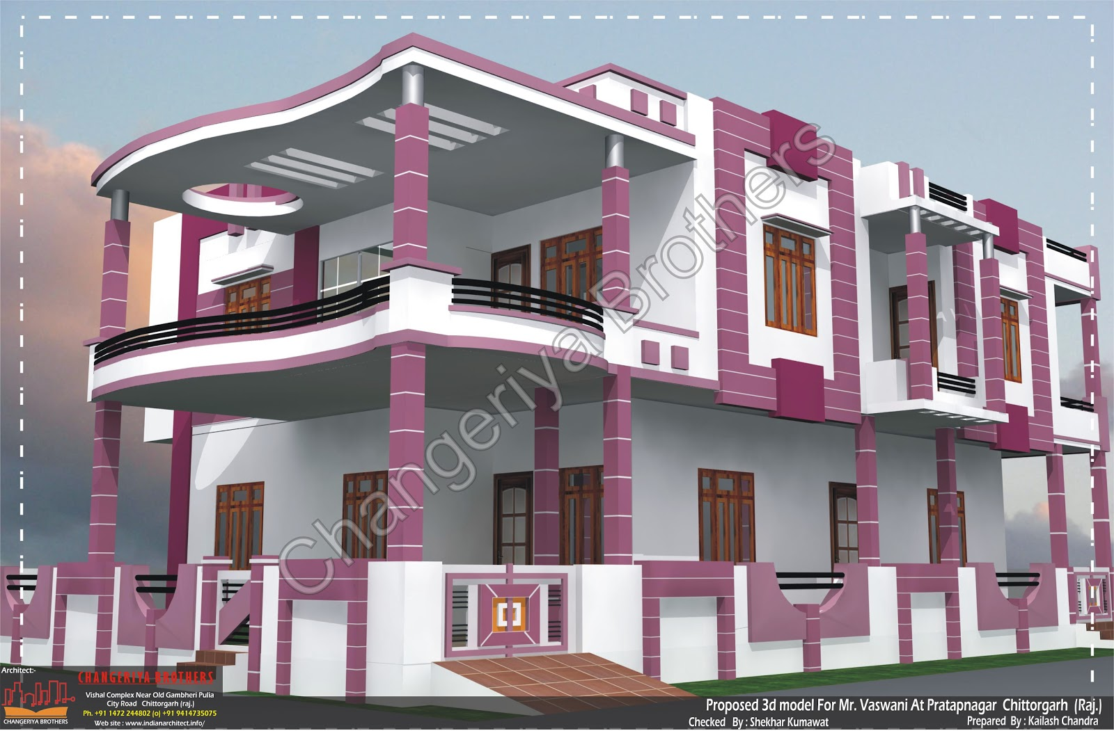 3d House Naksha Joy Studio Design Gallery Best Design