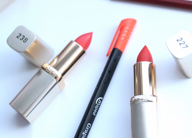 photo-l'oreal-_paris-color_riche-red_lips-labios-rojos-238-227-naranjas-orange_after_party-hype