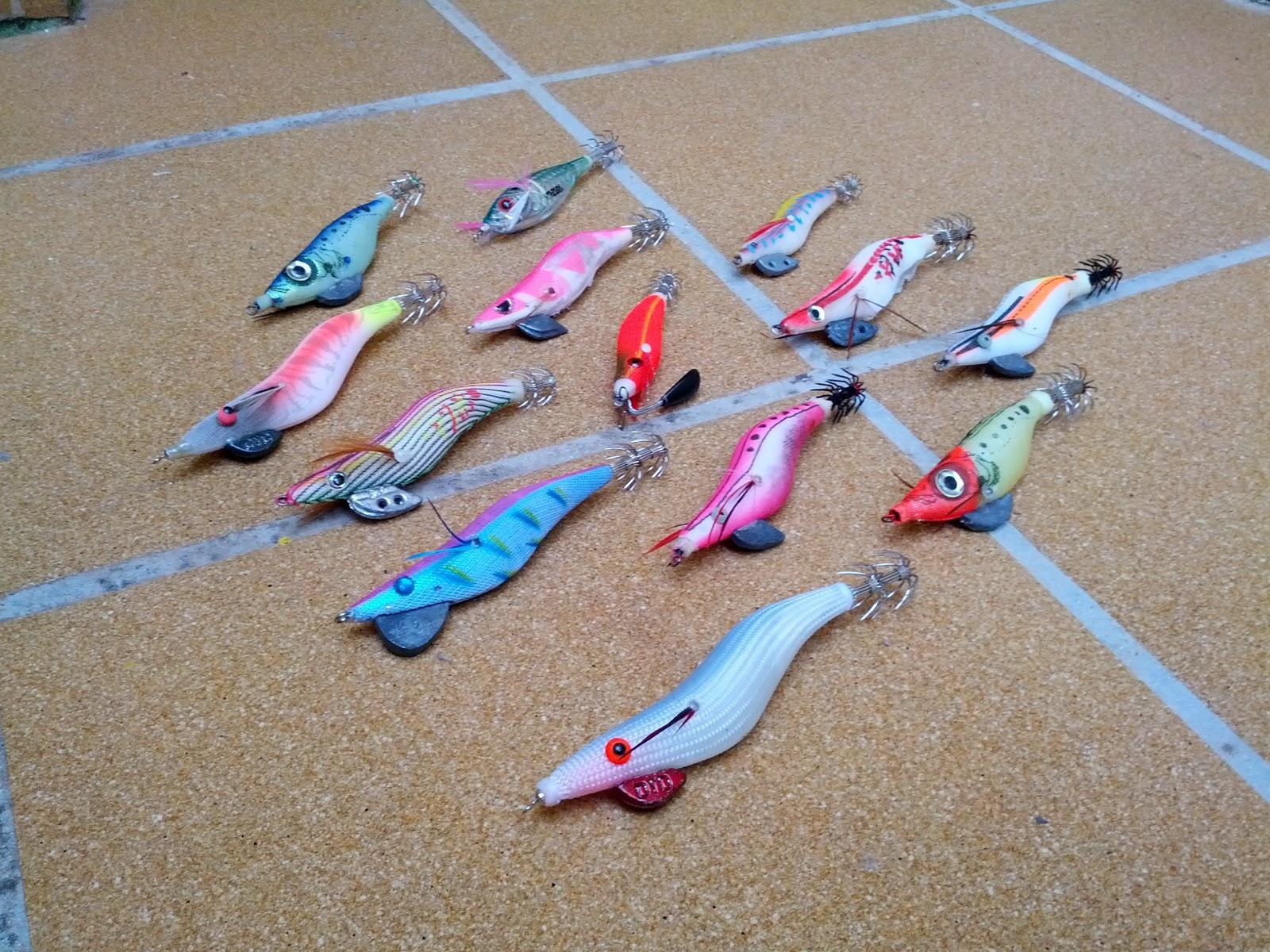 Colección pajaritos para el calamar