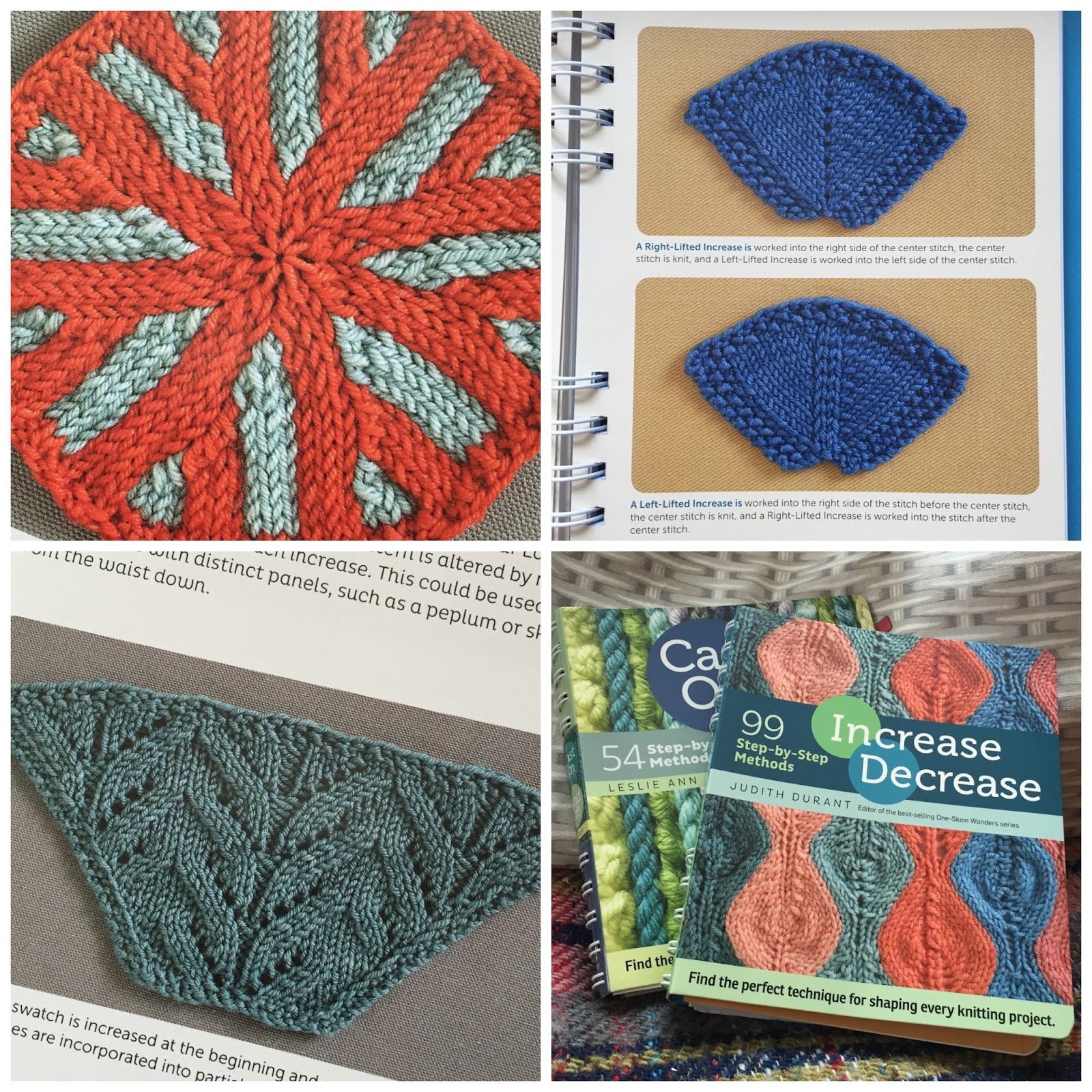 Knitting Stitch Decrease Calculator : Increase Decrease - 99 step-by-step methods (Book Review) Crafts from the C...