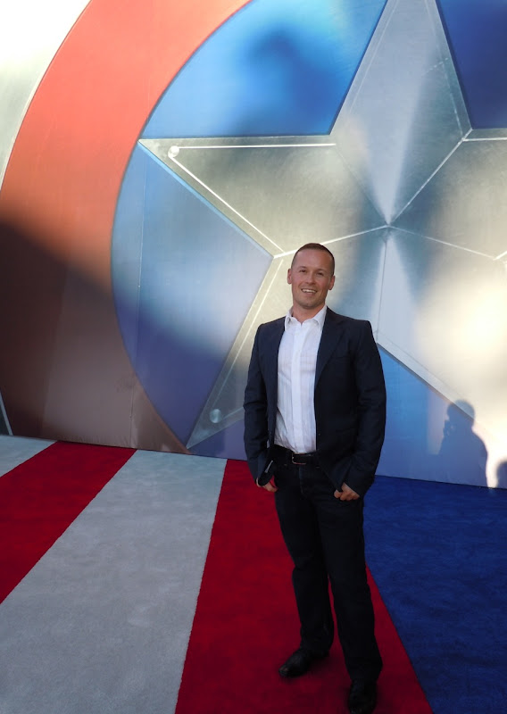 Jason at Captain America World Premiere