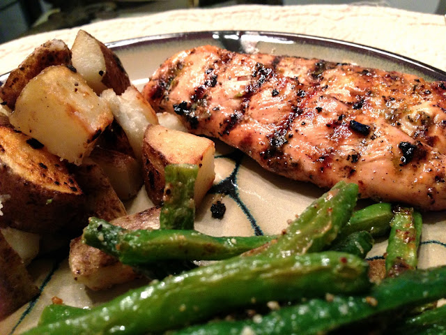 Escapades in Eating: Grilled Honey Lime Chicken
