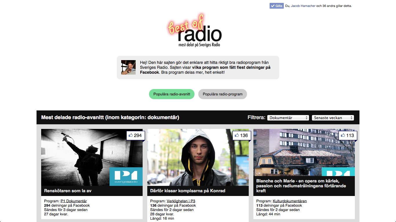 http://bestofradio.se