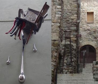Sillas en Besalú Girona