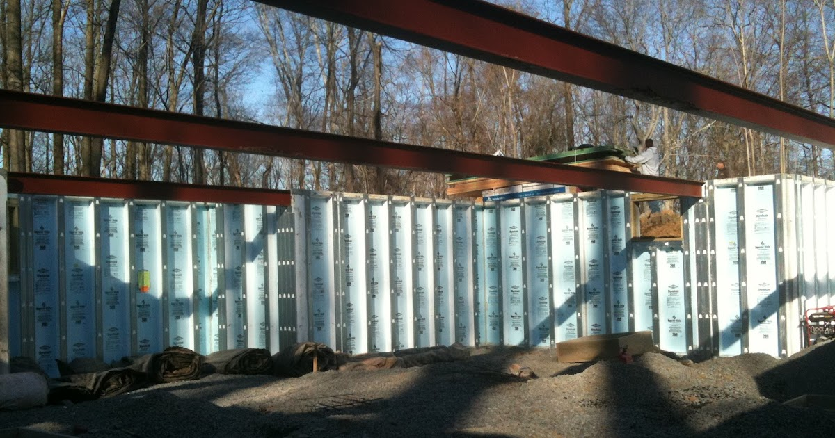 First passive house in pa designed to exceed passivhaus for Superior foundation