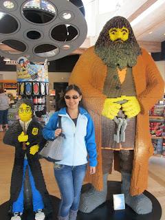 Legoland California Harry Potter and Hagrid