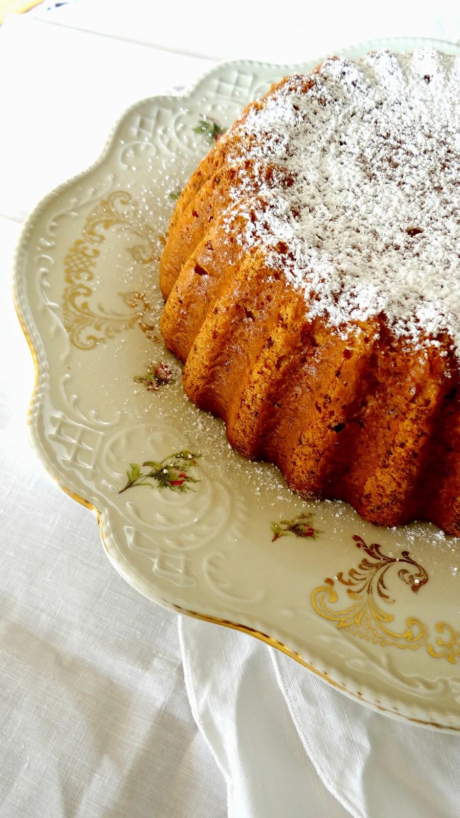 torta, cake, zucca, pumpikin