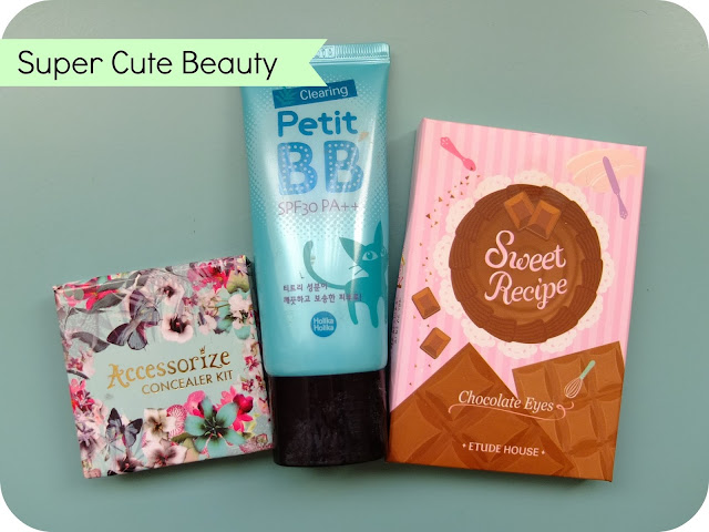 Cute packaging but disappointing products on www.helloterrilowe.com Featuring Holika Holika, Etude House and Accessorize.
