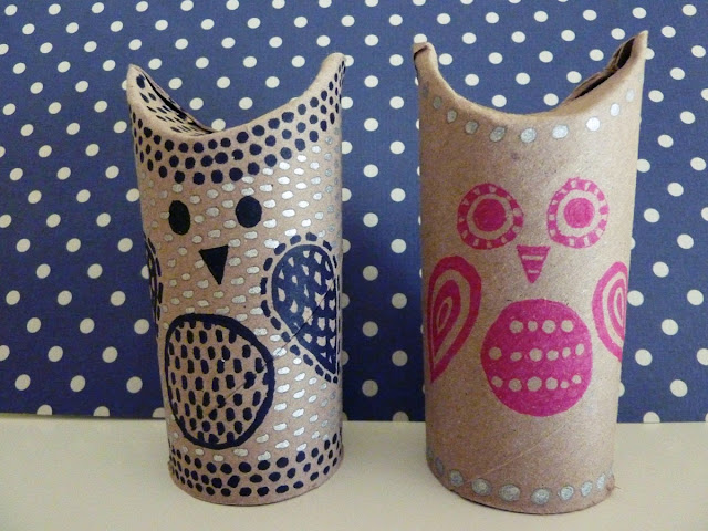 Friday craft day toilet paper roll owls simple as that for Toilet paper tube owls