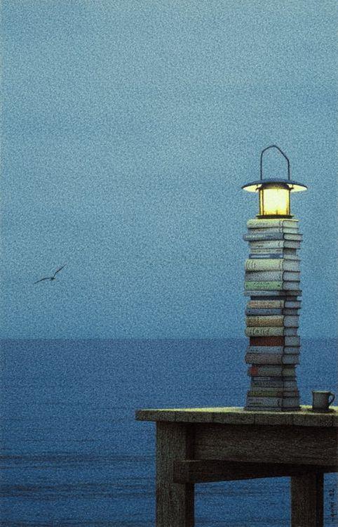 El faro de libros (Quint Buchholtz)