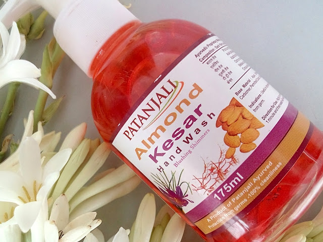 Patanjali Almond Kesar Hand Wash