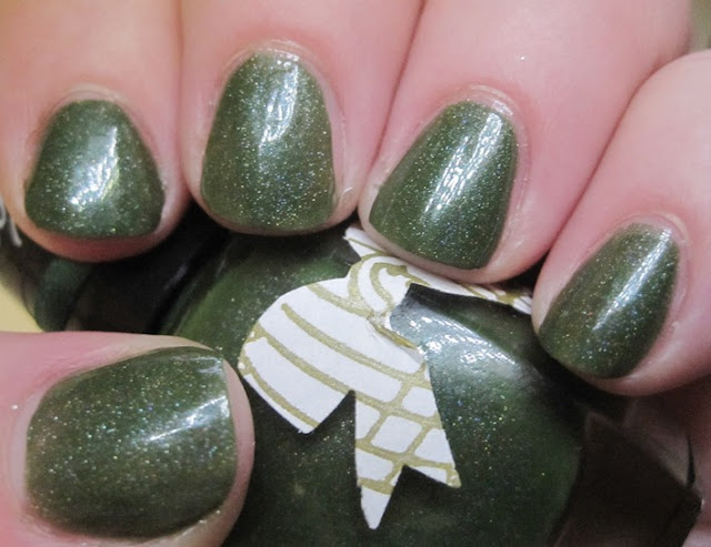 Caged Bird Lacquer Idylle