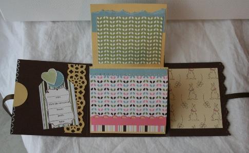 stampinlalie mini album flip flap pour une fille. Black Bedroom Furniture Sets. Home Design Ideas