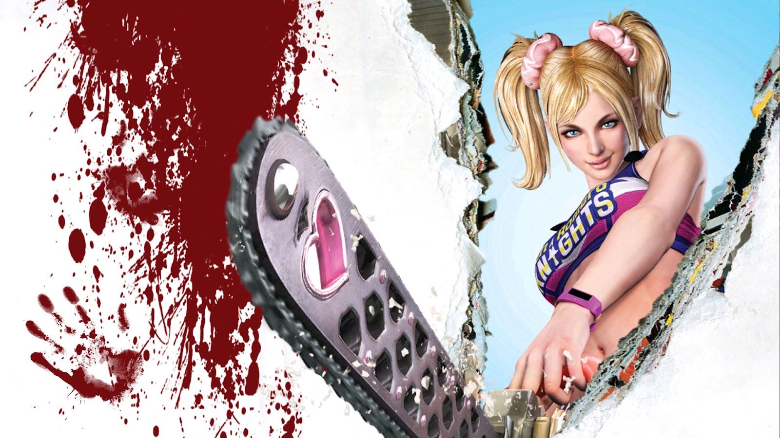 lollipop chainsaw hd wallpaper by jmk1999 d4u85jw Lollipop Chainsaw Wallpapers in HD   1080p
