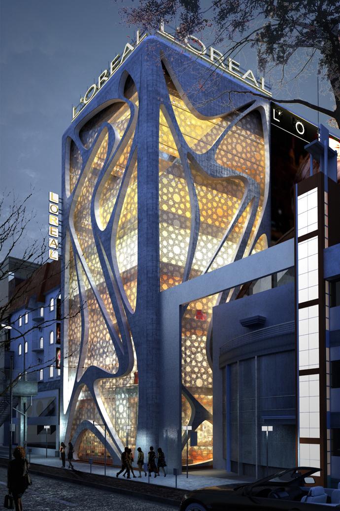 Future Architecture IAMZ Design Studio L 39 Oreal Office Building Sweden