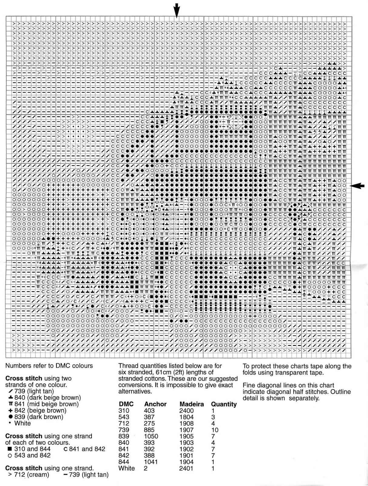 Схемы вышивки крестом херитаж 11