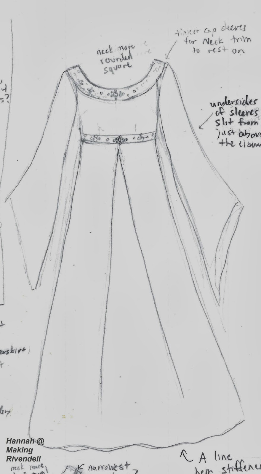 Making Rivendell in the Desert: Arwen Angel Dress Planning (Part 1 ...