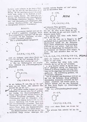 What band name XTC means - 1914 mdma patent by Merck
