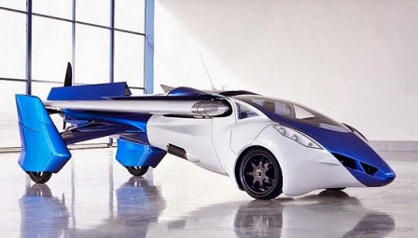Carro voador chegará ao mercado em dois anos