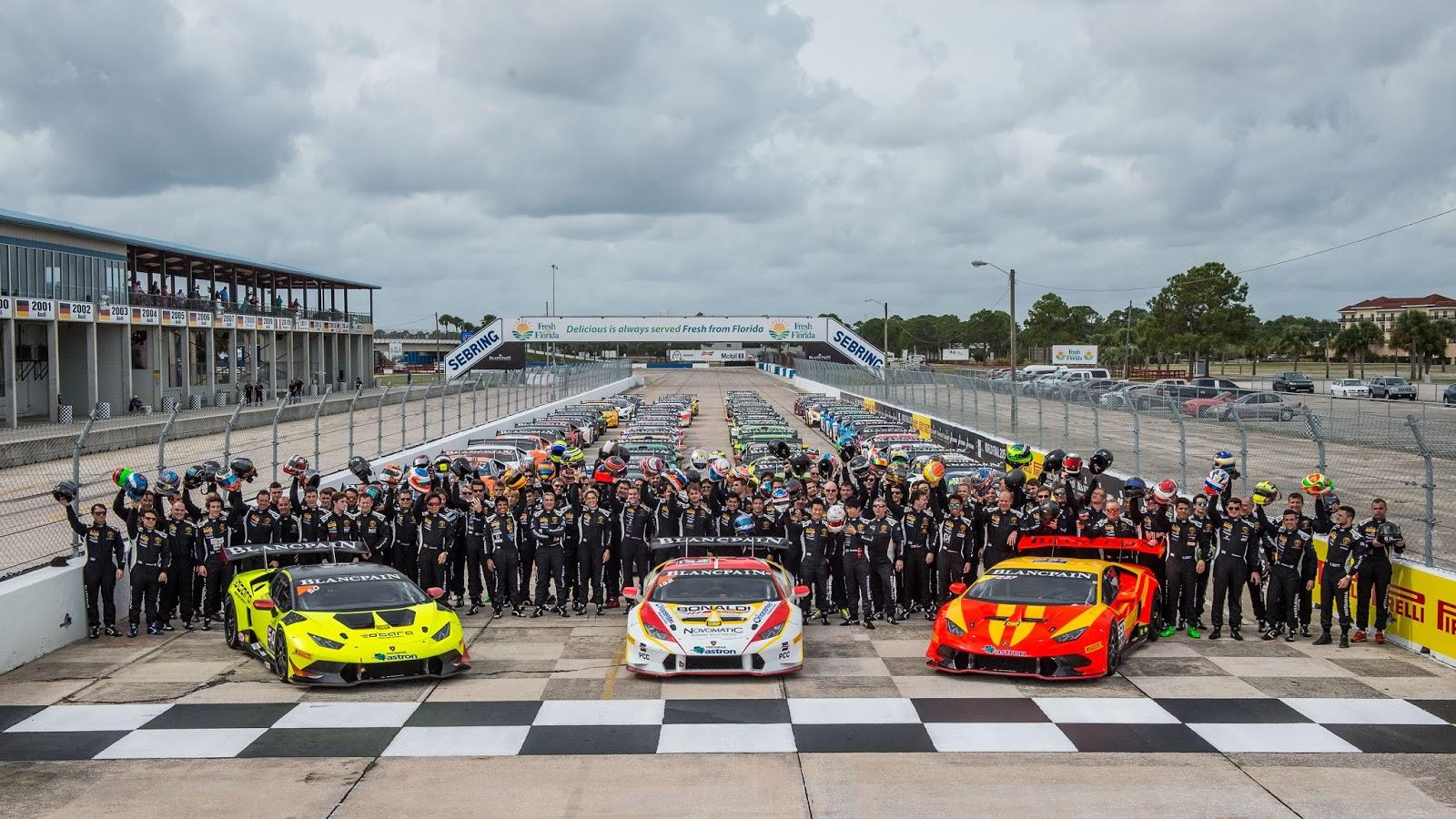 Lamborghini Blancpain Super Trofeo Calendar Announced ...