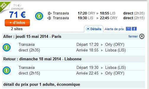 Low Cost Transavia Lisbonne