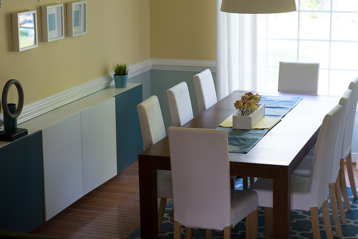 DINING ROOM DESIGN Turquoise Makeover