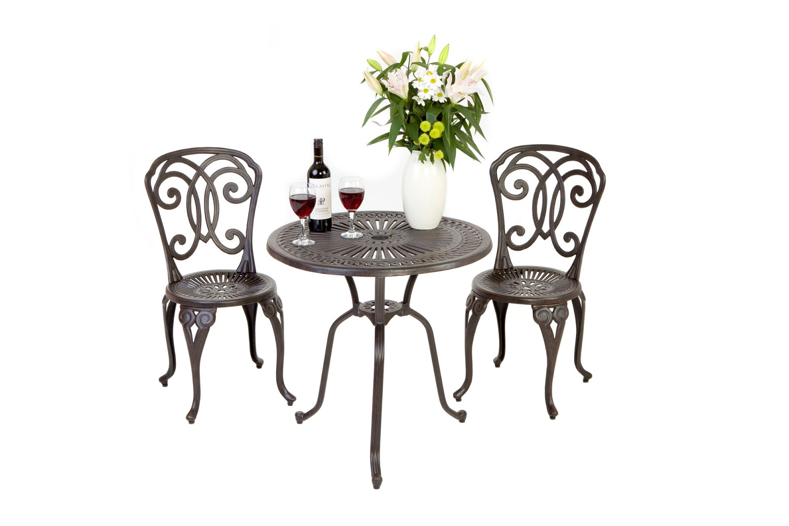 Wrought Iron Garden Furniture Uk Outside edge garden furniture blog free cast aluminium garden free cast aluminium garden bistro set or bench when buying one of our 6 seater garden furniture sets or above free uk delivery workwithnaturefo